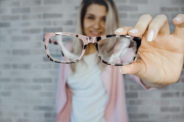 cuidado de lentes